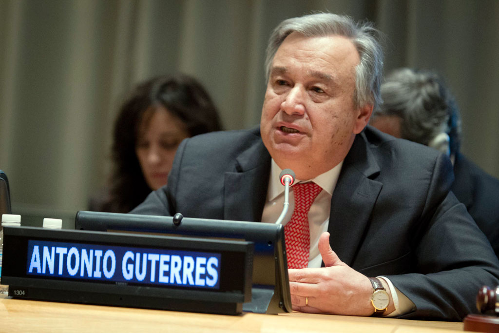UN's Guterres welcomes the agreement on the name issue