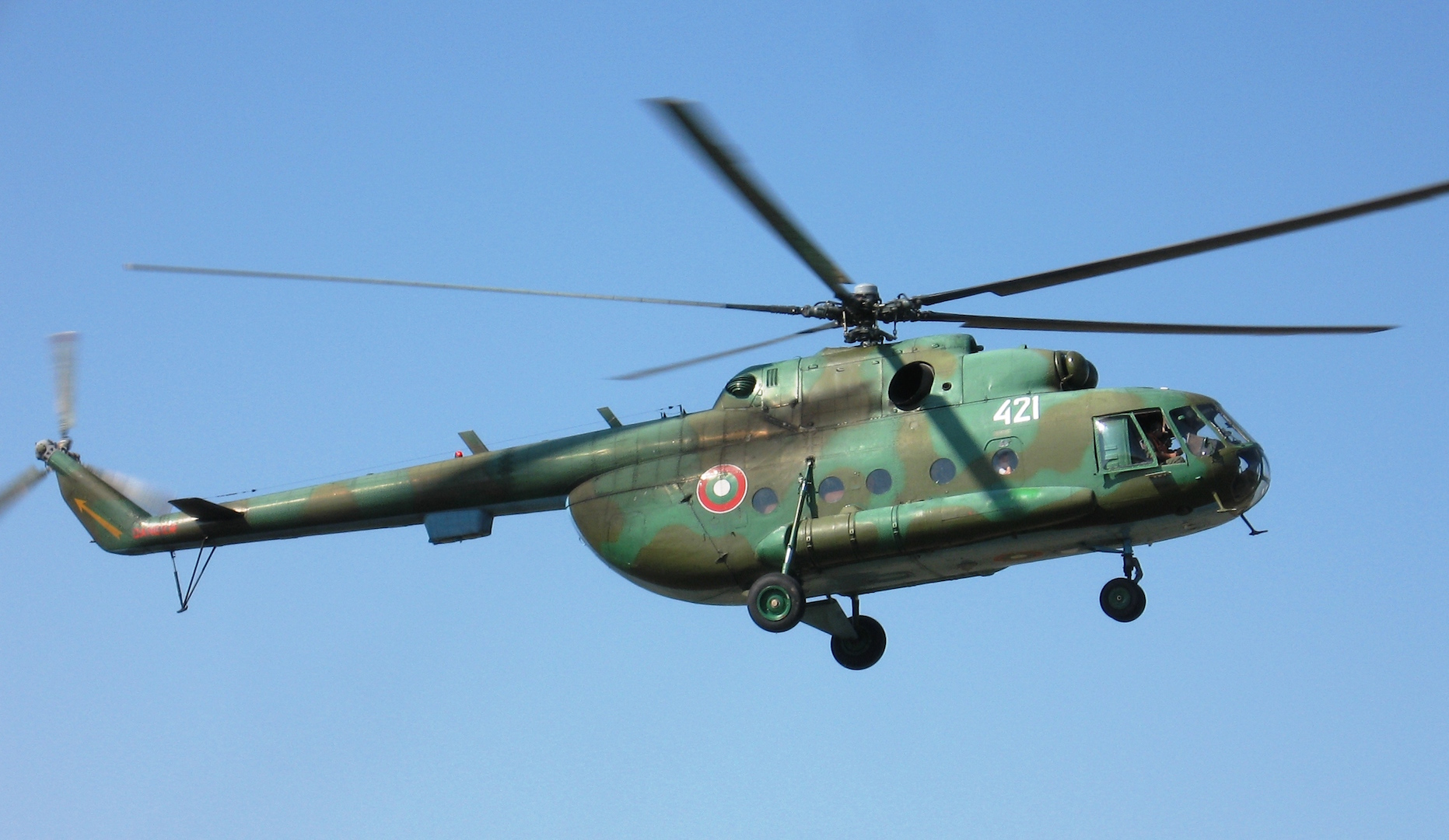 Mi-17 Bulgarian helicopter crashes, 2 pilots dead