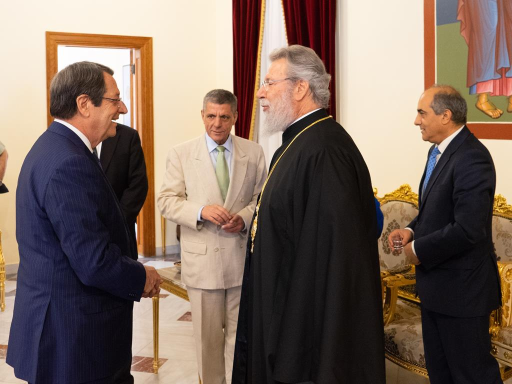 Turkey holds the key for the resumption of the talks, President Anastasiades says