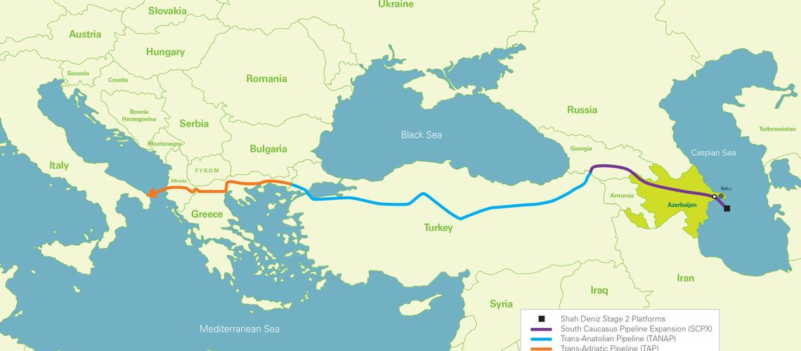 The 'deconstruction' of the most ambitious project of the EU, the 'Southern Gas Corridor'