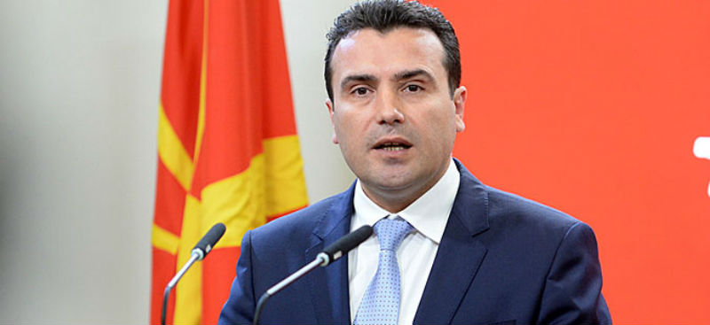Zoran Zaev announced reaching a deal on the name issue