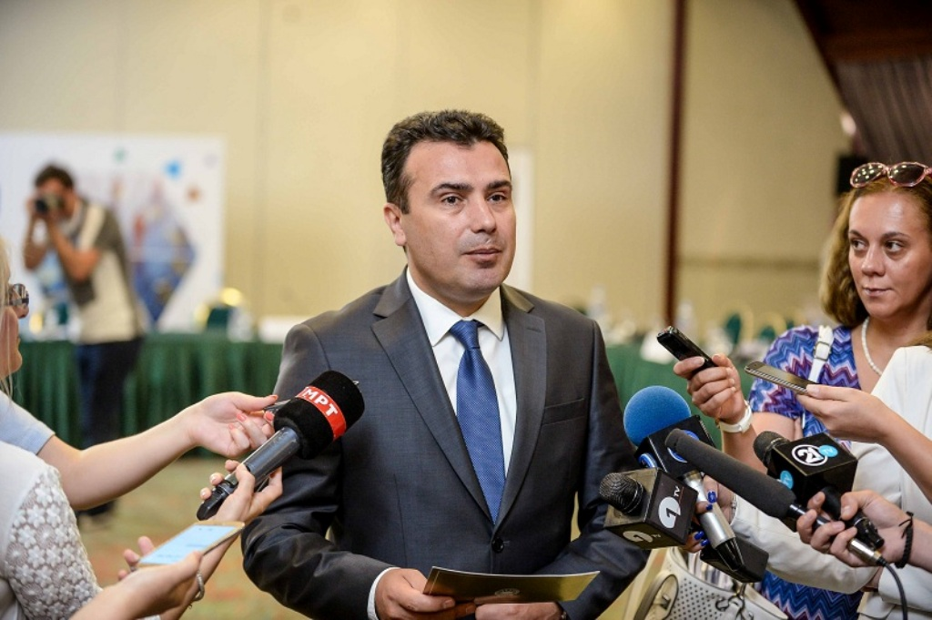 Zaev holds a two day visit in Brussels