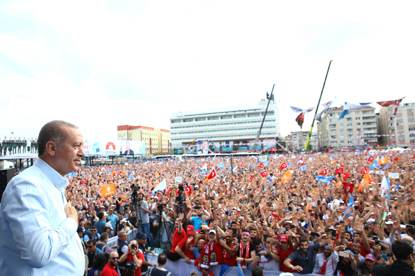 Erdogan: We have been working day and night to boost our economy