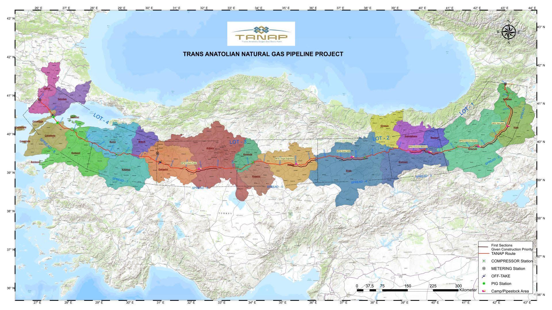 Εγκαίνια για τον αγωγό ΤΑΝΑΡ – Το ενεργειακό «παιχνίδι» στην ΝΑ Ευρώπη ξεκινά