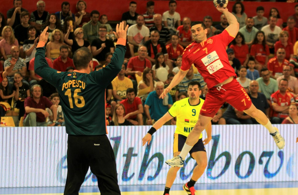 FYROM defeats Romania in handball, one step closer to qualification in the world championship