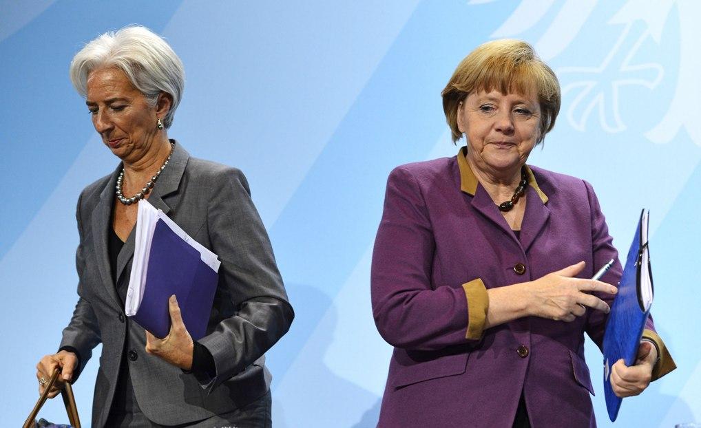 Merkel, Lagarde to seek last-minute Greek debt deal