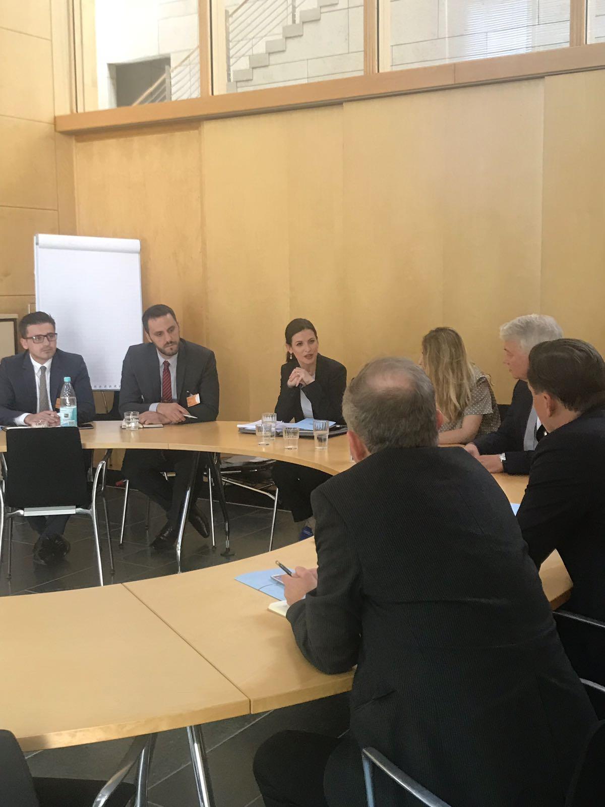 German authorities support the reforms undertaken by Albania