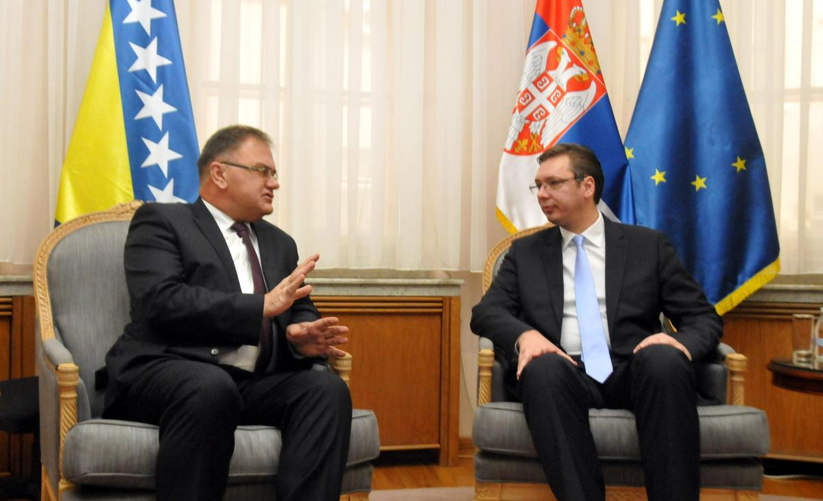 Serbia will always respect the Dayton peace agreement, Vucic says