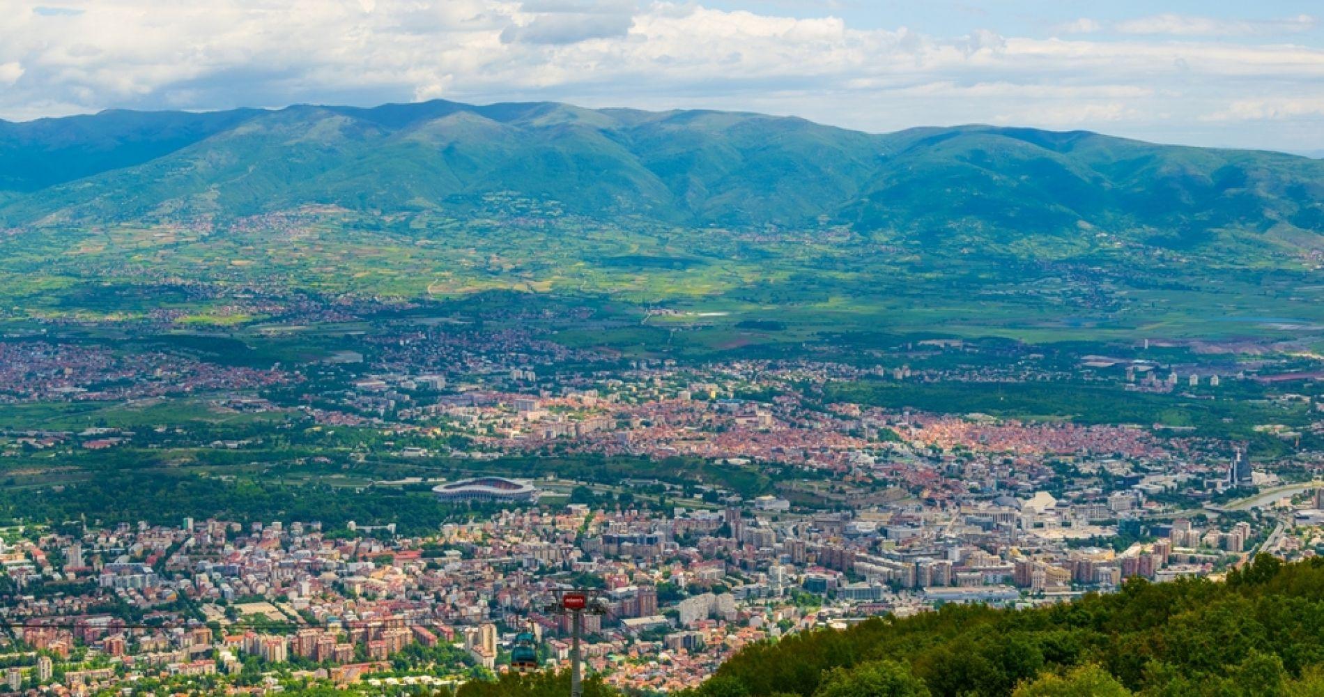 Pipeline-related risks for Skopje'sVodno mountain