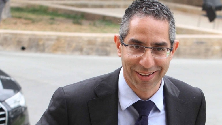 Cypriot Defence Minister on an official visit to Israel