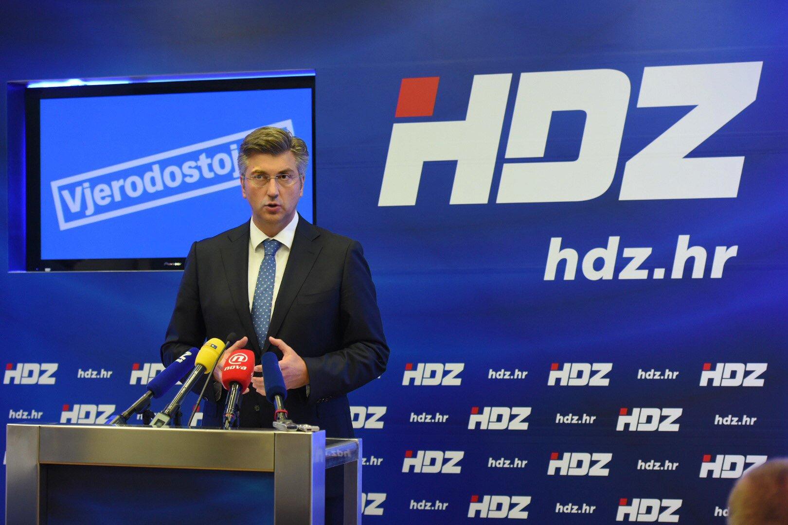 Croatian HDZ ruling party sacks twointernal 'enemies'