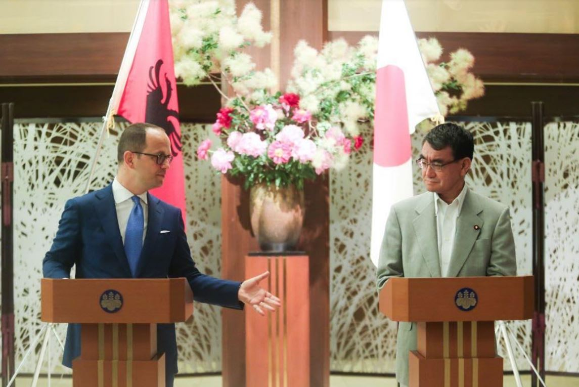 Foreign minister Bushati: Japan plays an important role through the Western Balkans Cooperation Initiative