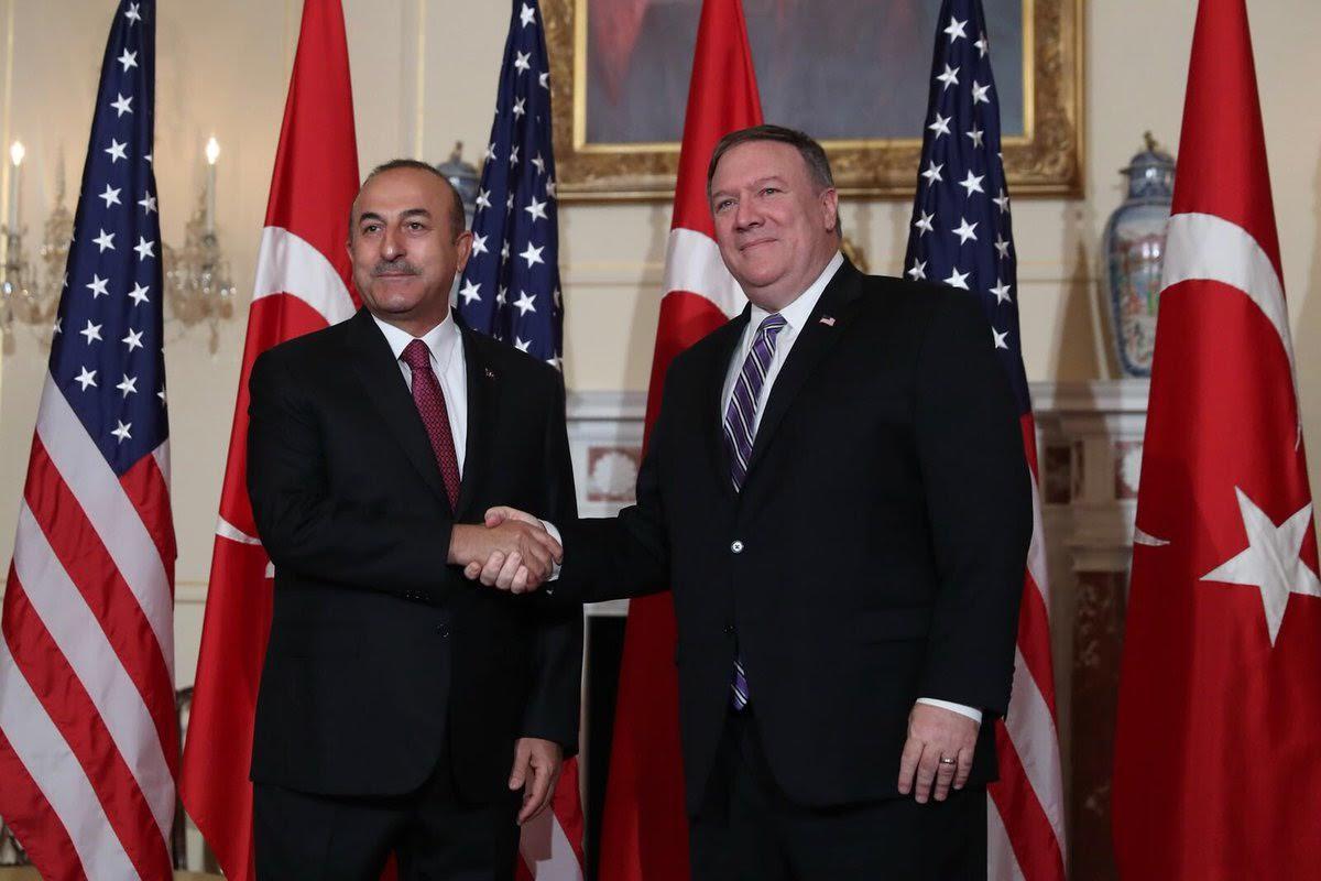Çavusoğlu-Pompeo meet in Washington, bilateral issues, Manbij top the agenda