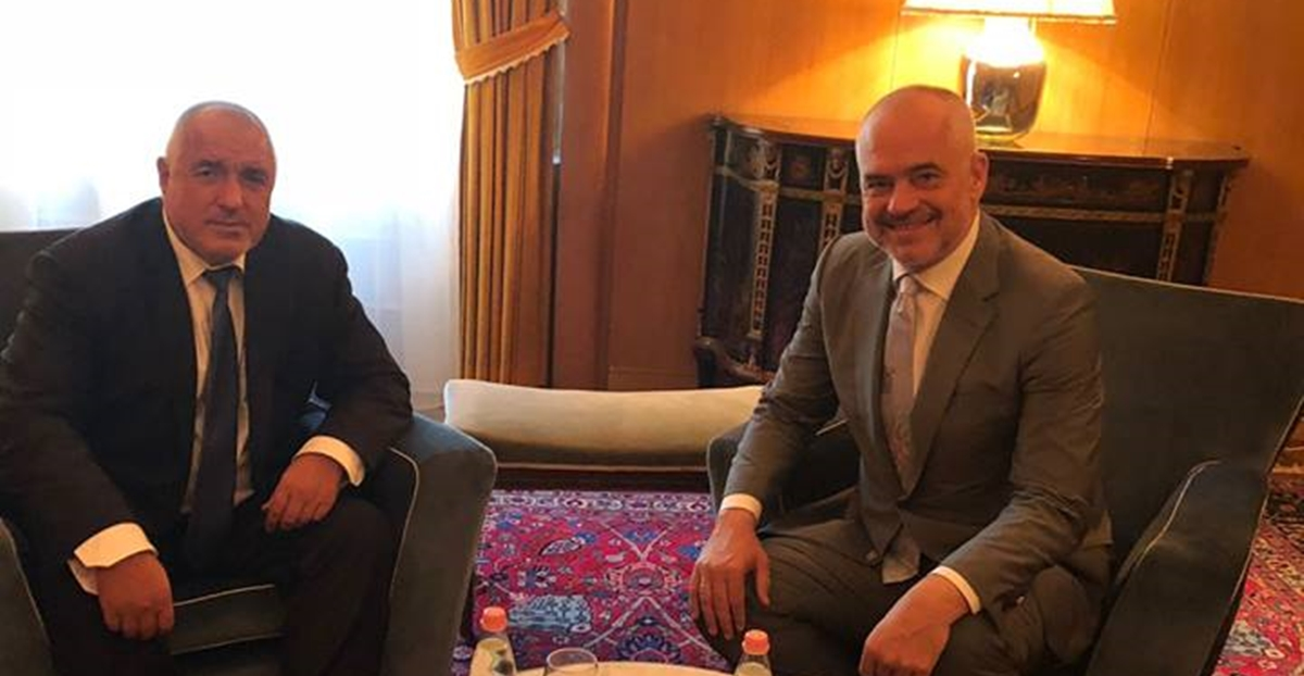 Bulgarian PM Borissov holds talks with PMs of Albania, Kosovo