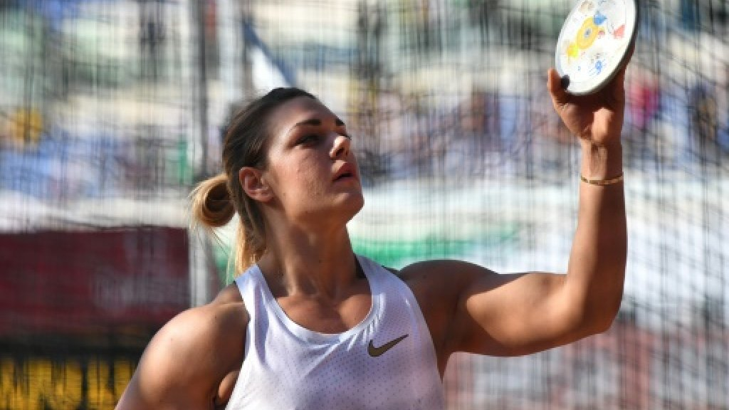 Queen of the discus: Sandra Perković sets new record in Rome
