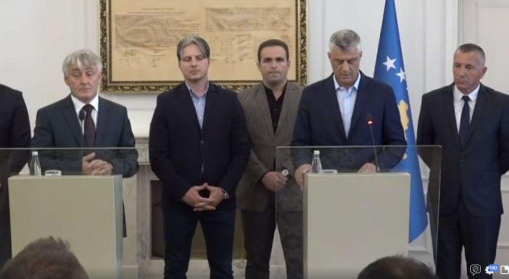 Kosovo against border changes