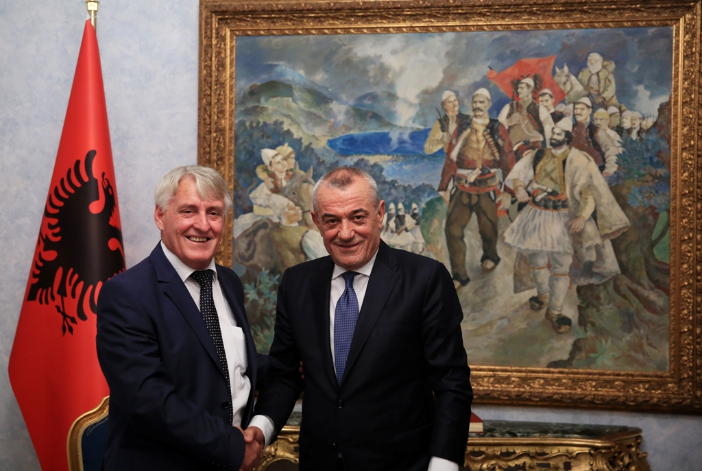Albanian Parliamentary Speaker meets the leader of the Democratic Party of Presevo Valley