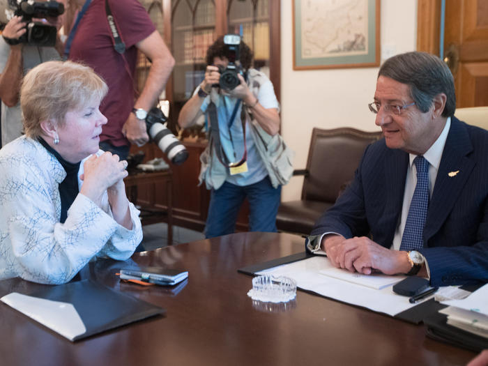 President Anastasiades met with Special Advisor of the UN Secretary General for the Cyprus Issue