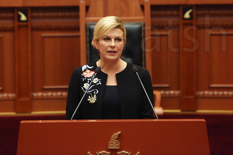 President of Croatia: Albania plays a key role in Southeast Europe