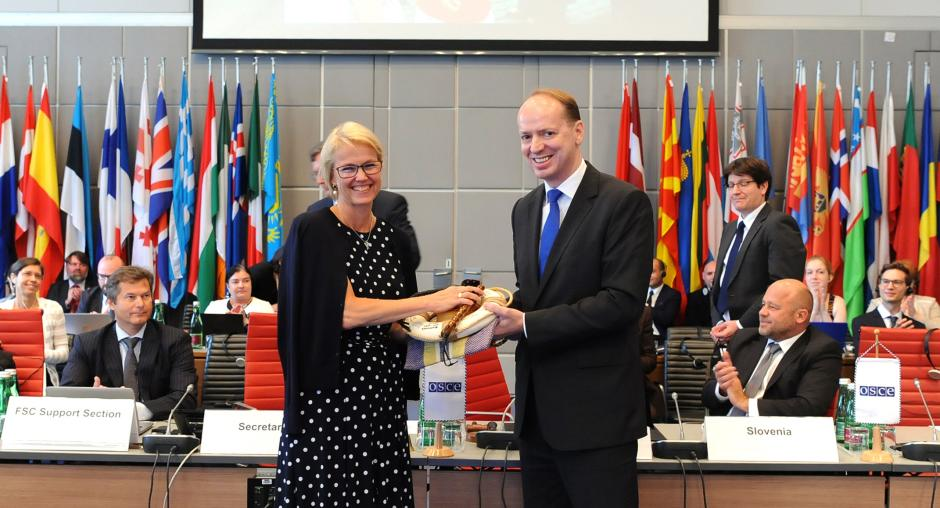 OSCE Forum Chairmanship of Slovenia was concluded