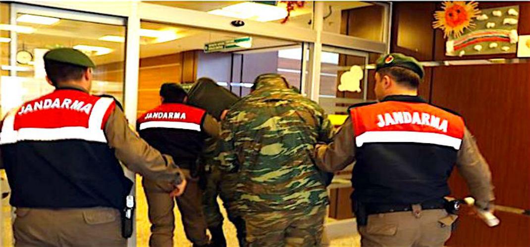 Συνεχίζεται η κράτηση των 2 Ελλήνων στρατιωτικών όπως και του πάστοραBrunson
