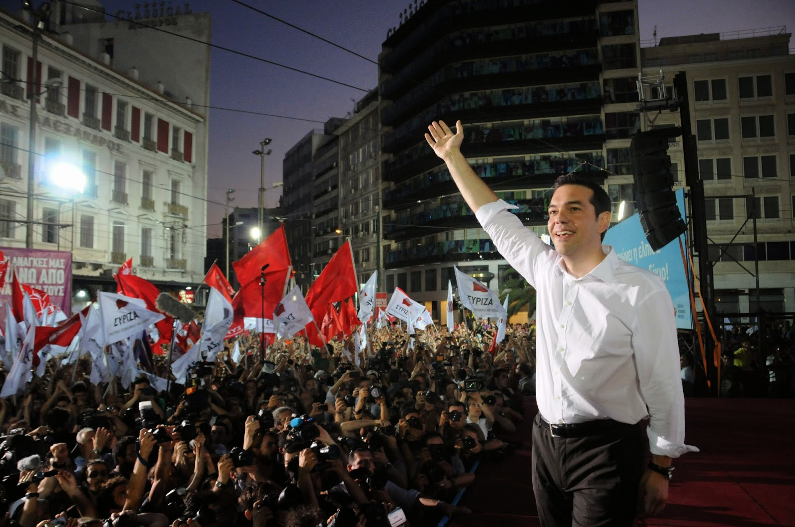 SYRIZA is planning Greece's post-bailout future