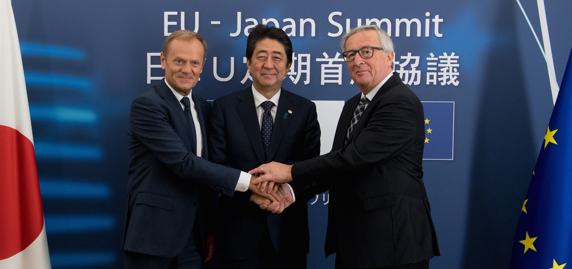 How the single market's biggest trade deal ever with… Japan shuns the U.S.