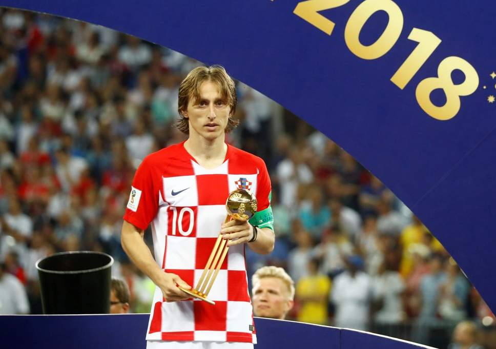 promo code eaae2 7356f The 2018 World Cup Golden Ball went to Luka Modrić