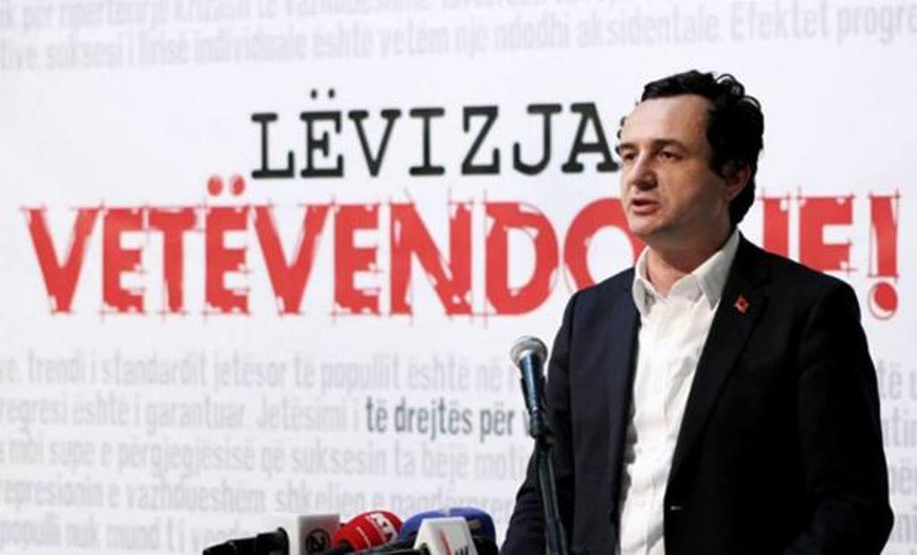 Talks are legitimizing Serbia's presence in Kosovo, Self Determination says