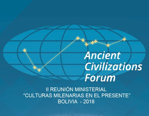 Nikos Kotzias in La Paz for the 2nd Ancient Civilizations Forum