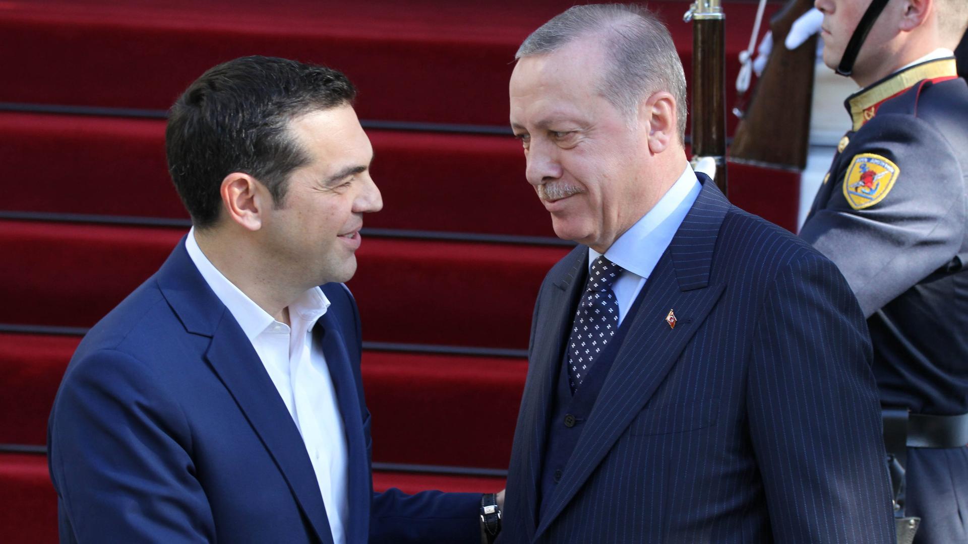 Tsipras,Erdoğan meeting on NATO Summit sidelines in Brussels