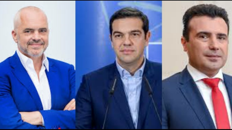 Alexis Tsipras to meet Zaev and Rama in London