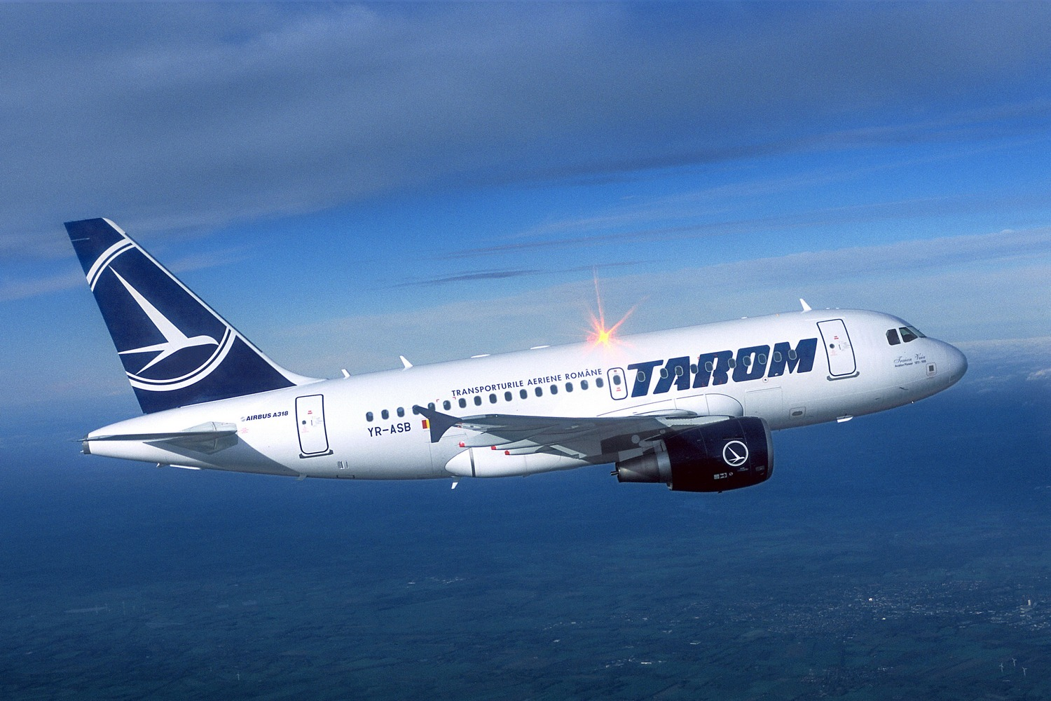 New international routes for Romanian Tarom