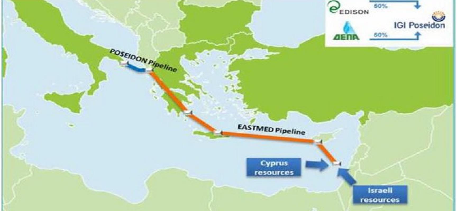 September meeting in Israel for the EastMed pipeline