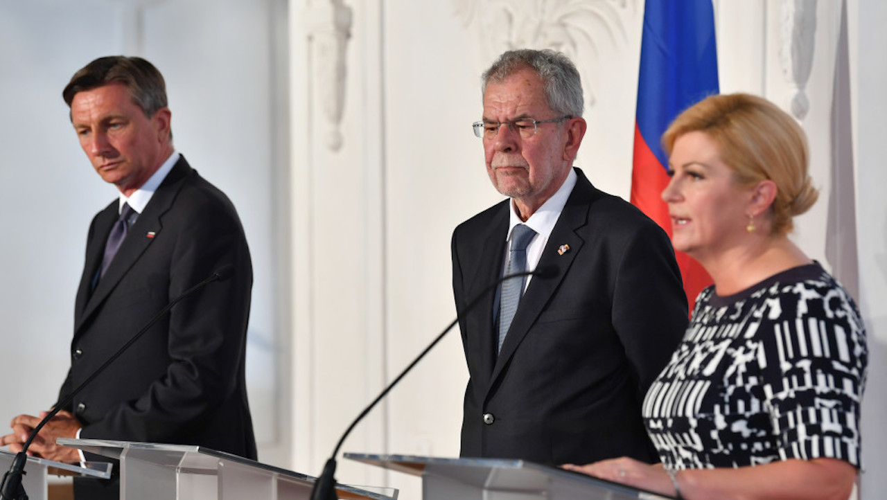 Migration, illegal immigration the topics in focus by Slovene, Croat presidents