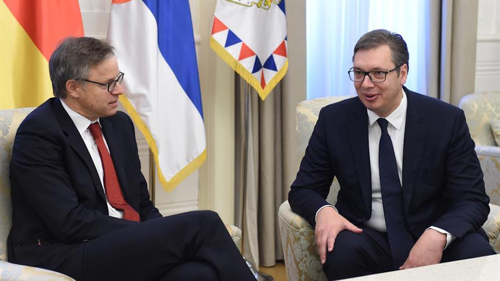 """Serbian-German relations the """"best in history"""""""
