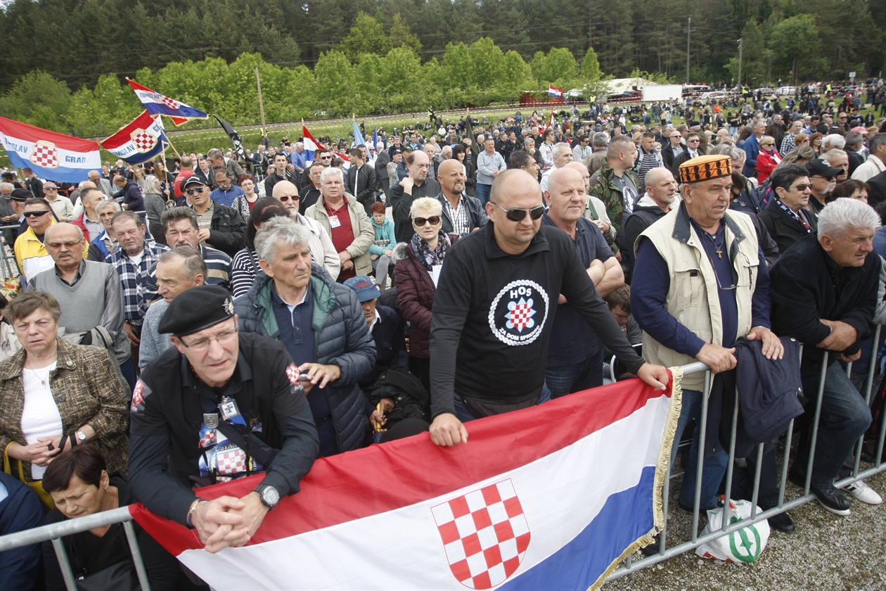 Croats convicted by Austrian courtof doing Nazi salutes in the country