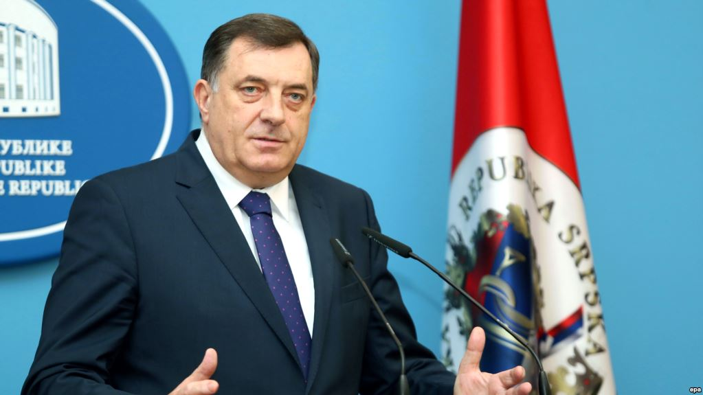 "Dodik's ""fake threats"" annoy the UK that suggest he stops"
