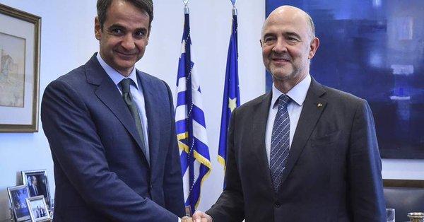 Συστάσεις Μητσοτάκη σε Moscovici, να είναι πιο προσεχτικός.