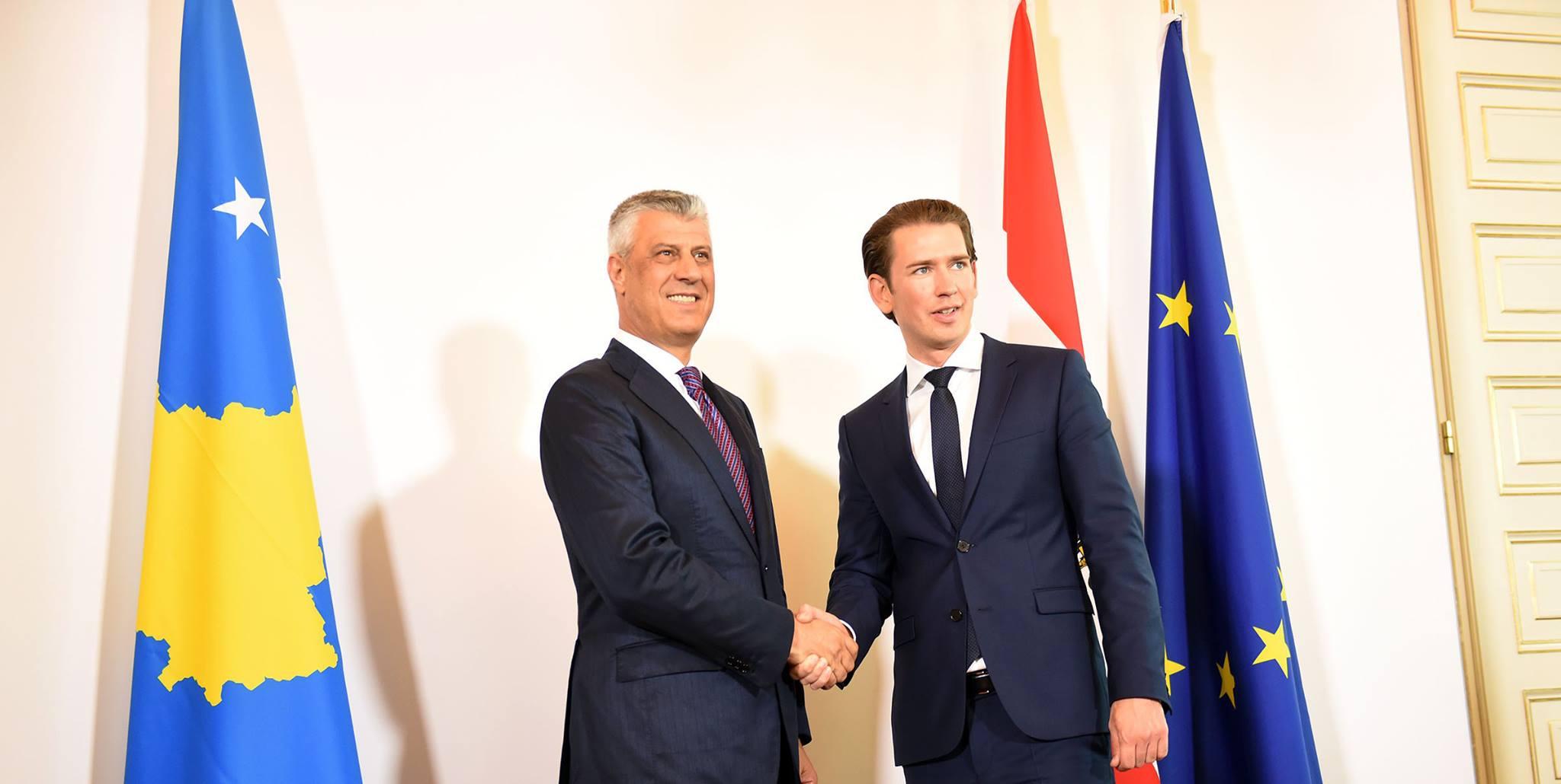 Austria to back Kosovo's accession in the EU