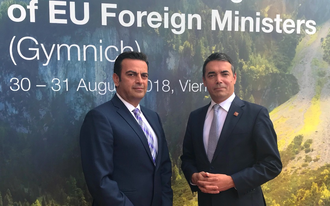 Foreign Minister Nikola Dimitrov speaking to IBNA: 'The agreement will be accepted, we are natural allies'