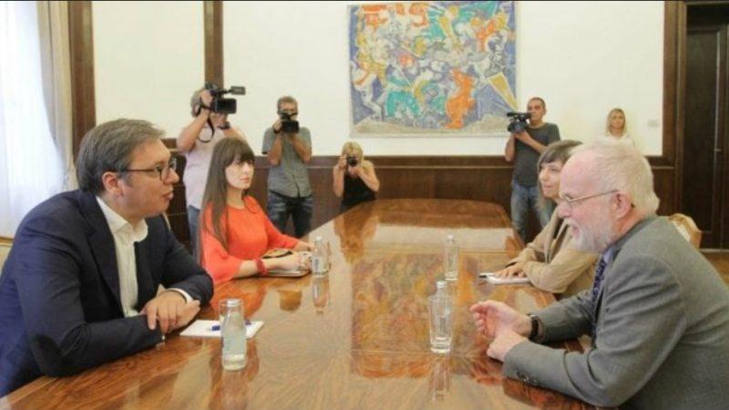 """Serbia will not accept a """"humiliating"""" solution, Vucic tells UK ambassador"""