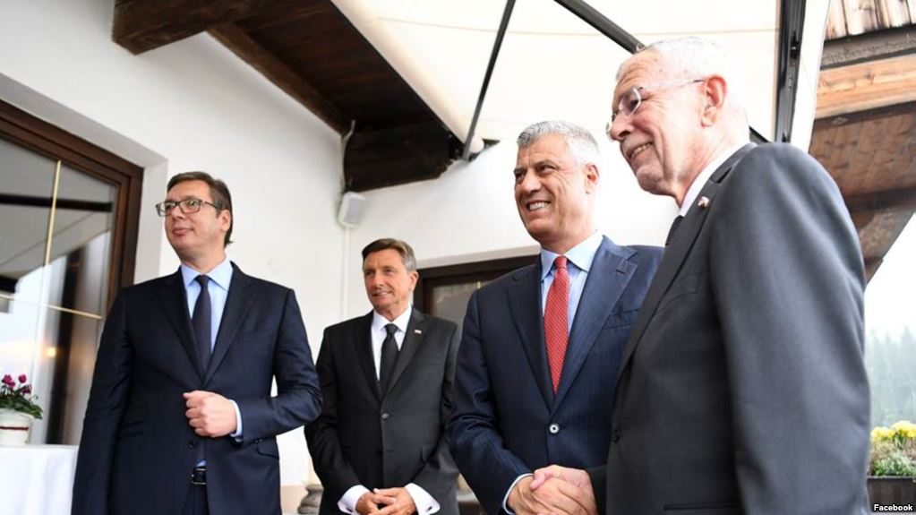 Debate between president and opposition on the issue of Kosovo's border changes continues