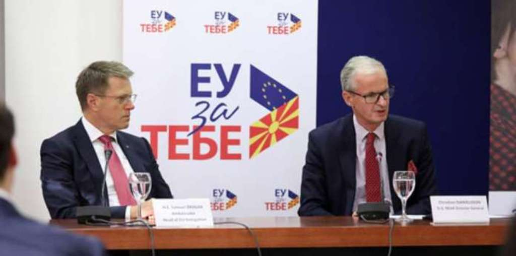 The EU launches its campaign in FYROM
