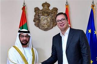 Vucic receives UAE's Sheikh Hamdan bin Zayed bin Sultan Al Nahyan