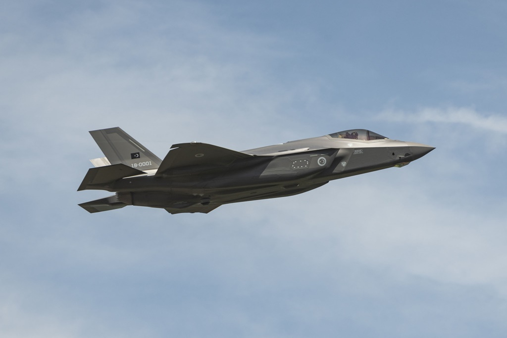 Turkish fighter pilot flies F-35 in U.S. for the first time, the future of the sale
