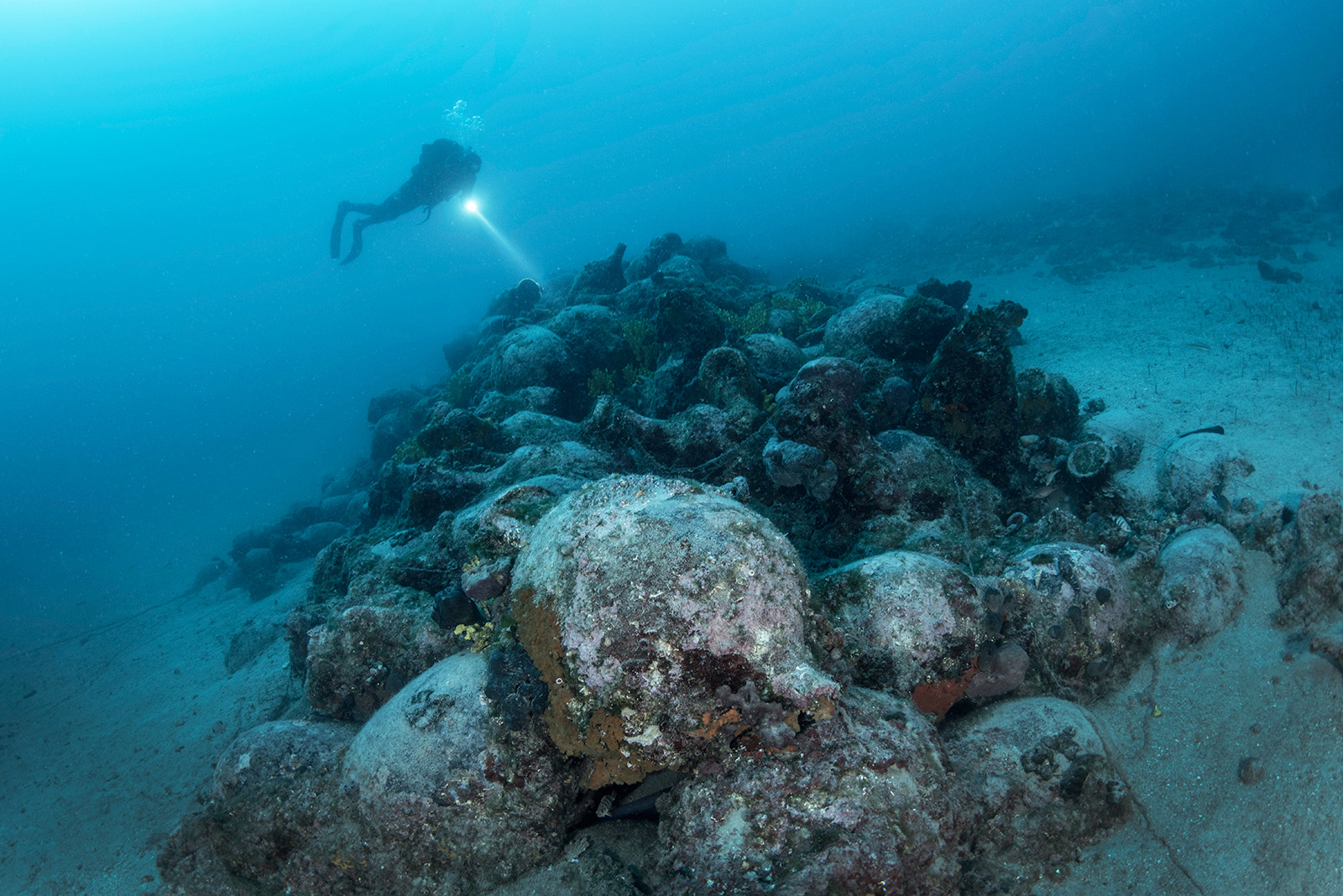 Divers discover 2,000-year-old sunken Roman ship off Pag, Croatia