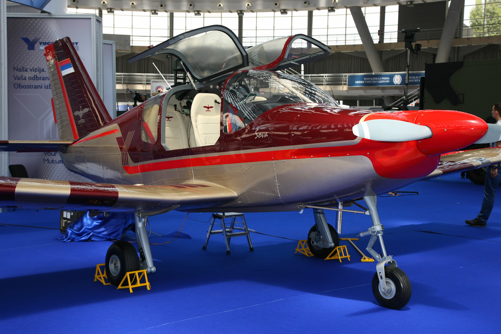 Serbian Utva's new plane in 30 years about to get flight-tested