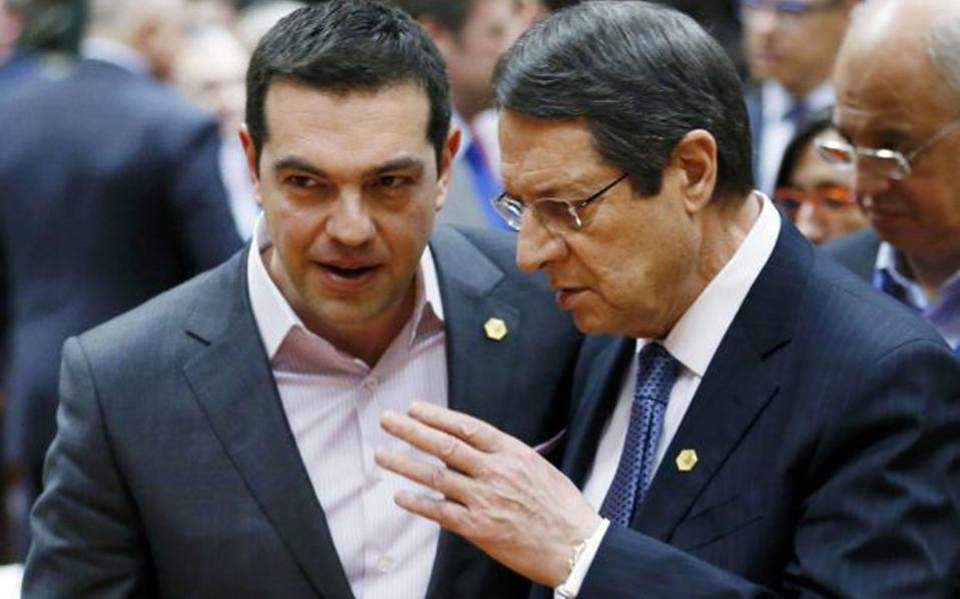 Anastasiades congratulates Tsipras on Greece's exit from the bailout programmes