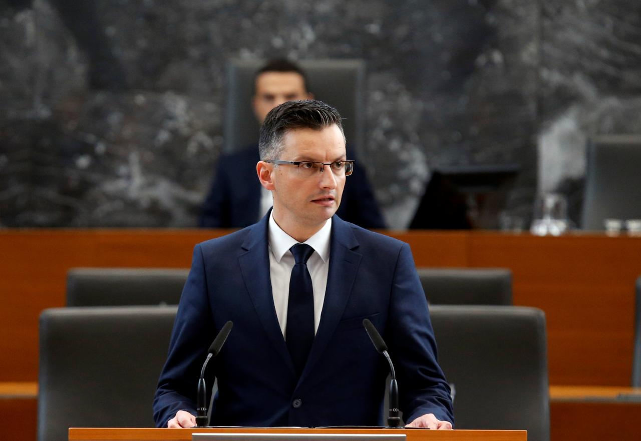Agreement on division of ministries in Slovenia by the coalition government